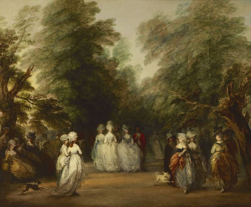Thomas Gainsborough, The Mall in St. James's Park (1783)