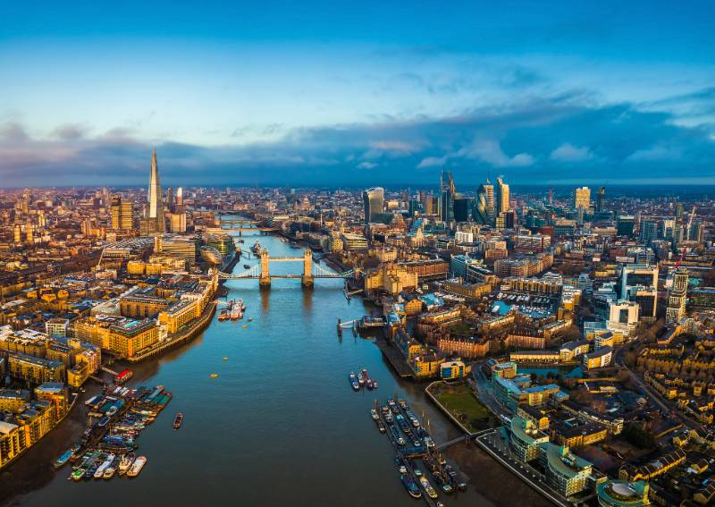 London over the Thames